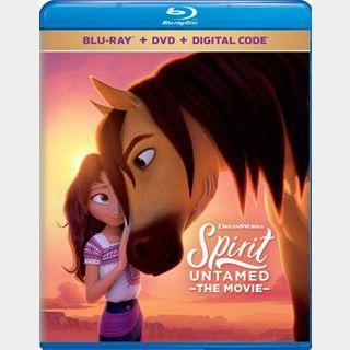 Spirit Untamed (2021) / 🇺🇸 / HD MOVIESANYWHERE, HD VUDU