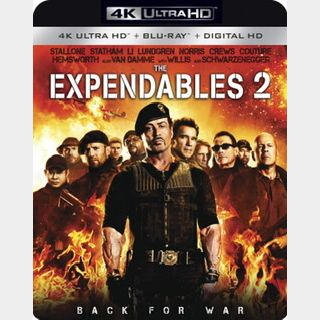 The Expendables 2 (2012) / tyoe🇺🇸 / SPECIAL.99SALE🍿😈 / 4K UHD ITUNES code / redeem @ itunes / NO PORT