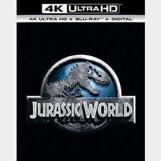 Jurassic World (2015) / glky🇺🇸 / 4K UHD ITUNES code / redeem @ itunes / PORTS