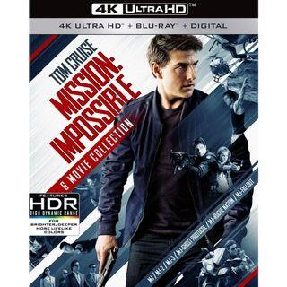 MISSION: IMPOSSIBLE 6-MOVIE COLLECTION / mi026🇺🇸 / 4K UHD ITUNES codes / redeem @ itunes / NO PORT