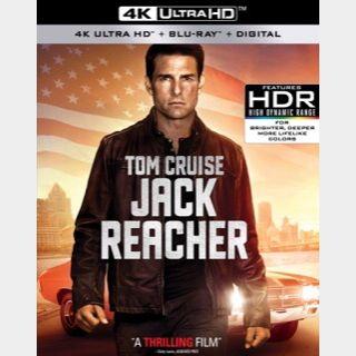 Jack Reacher (2012) / 🇺🇸 / 4K UHD ITUNES code / redeem @ itunes / NO PORT