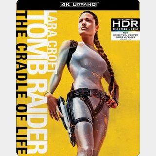 Lara Croft: Tomb Raider The Cradle of Life / otni🇺🇸 / 4K UHD VUDU / NO PORT