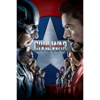 Captain America: Civil War — HD Google Play (LOWEST PRICE)