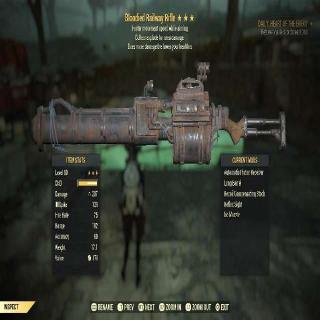 Weapon   BE Railway Rifle