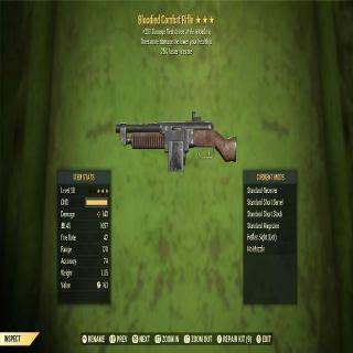 Weapon   BLOODIED FFR COMBAT RIFL