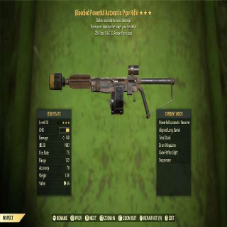 Weapon   BE PIPE RIFLE