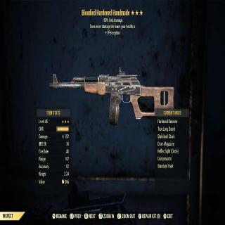 Weapon   BLOODIED HANDMADE