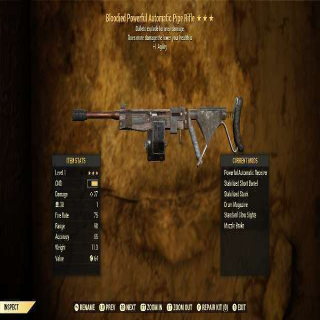 Weapon   *LVL 1* BE PIPE RIFLE