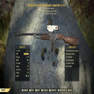 Weapon   BE COMBAT RIFLE