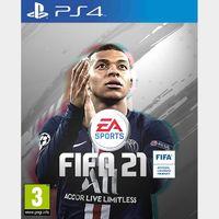 FIFA 21 PS4 - PS5 USA Code