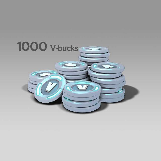 Fortnite 1000 V-Bucks For PC