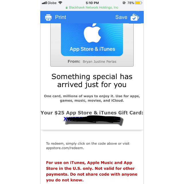 photo about Printable Itunes Gift Cards identify ITUNES Present CARD 25