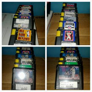 Mega Sega Genesis game Lot