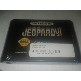 Jeapordy Sega Genesis
