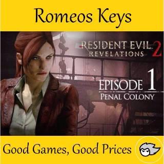 Resident Evil Revelations 2 - Episode 1: Penal Colony Steam Key