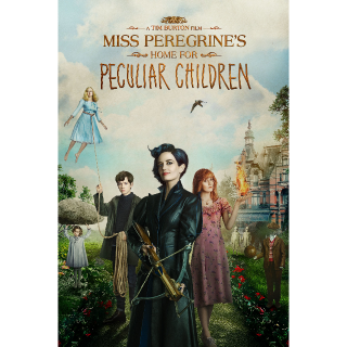 Miss Peregrine's Home for Peculiar Children UVHD (Digital Code) | INSTANT DELIVERY | UK