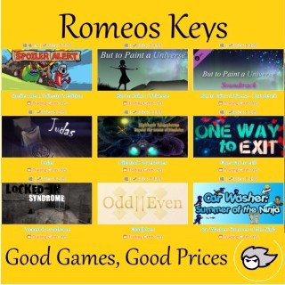 Romeos Bundle#1 [8 Games +1OST][With Steam Cards]