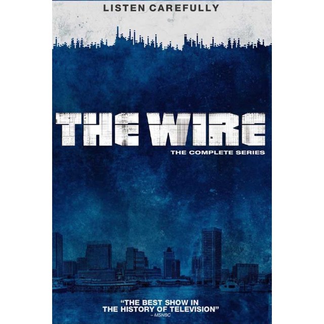 THE WIRE THE COMPLETE SERIES - Google Play HD (DIGITAL CODE)