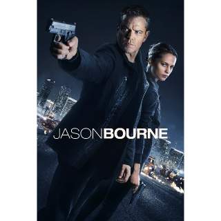 Jason Bourne UVHD (Digital Code) | INSTANT DELIVERY | UK