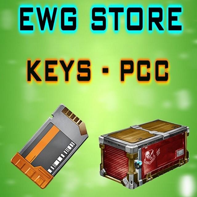 90x Players Choice Crates + 90x Key
