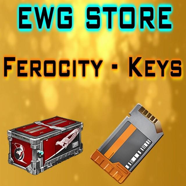 70x Ferocity Crates + 70x Key