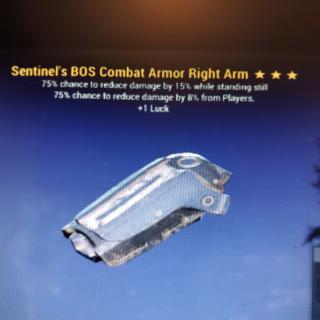 Apparel | 3*Sentinel Heavy R/Arm