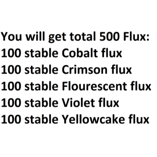 Junk | 100 of Each Stable Flux