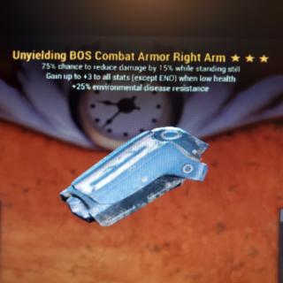 Apparel   3*Unyielding BOS R/Arm