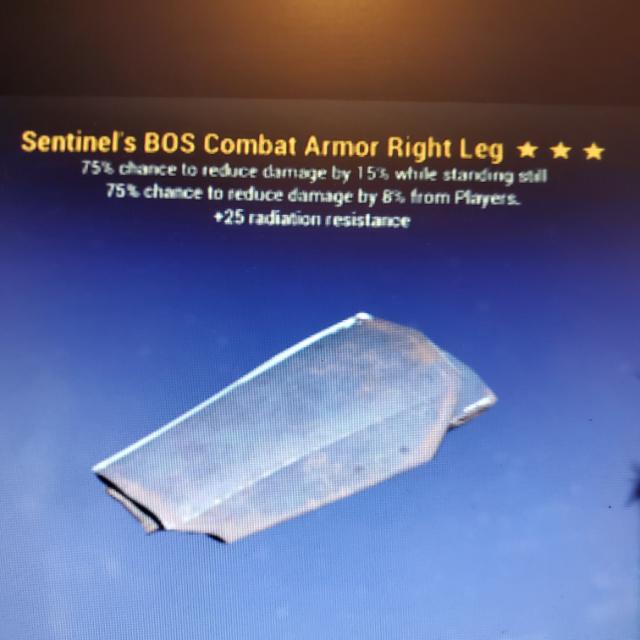 Apparel | 3*Sentinel Heavy R/Leg