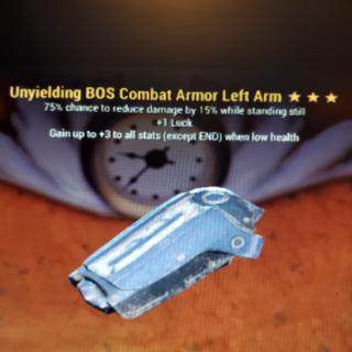 Apparel | 3* Unyeilding BOS L/Arm