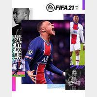 FIFA 21 Standard Edition Origin Key GLOBAL all languages