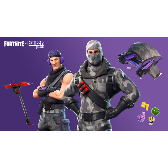 Fortnite Twitch Prime Skins [Fast delivery] [PC,XBOX,PS4,iOS