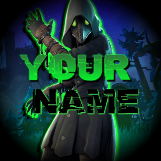 Fortnite Youtube Banner and Logo