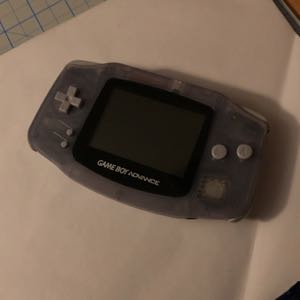 Gameboy Advance Glacier Clear AGB-001