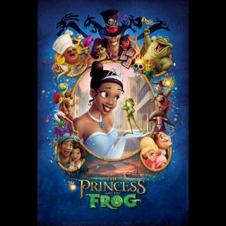 The Princess and the Frog 4K/UHD MoviesAnywhere