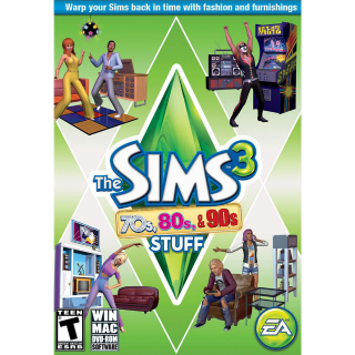 The Sims 3 70's, 80's and 90's | Origin CD Key | Worldwide | Fast Delivery