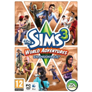 The Sims 3 World Adventures | Origin CD Key | Worldwide | Fast Delivery
