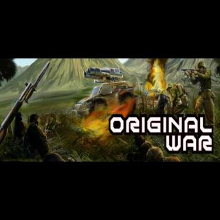 Original War Steam Key GLOBAL
