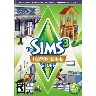 The Sims 3 Town Life Stuff | Origin CD Key | Worldwide | Fast Delivery