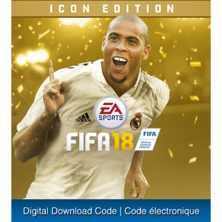 FIFA 18 Icon Edition PlayStation 4 Digital US Instant Delivery