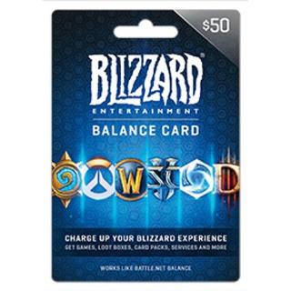 Battle.net Balance Store Gift Card $50 Digital