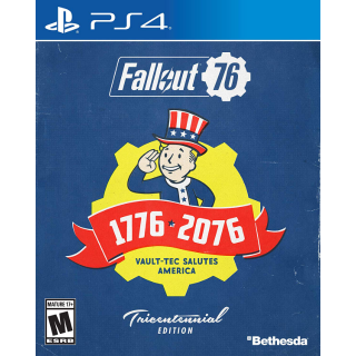 Fallout 76 Tricentennial Edition PlayStation 4 Digital Region USA CD KEY Instant Delivery