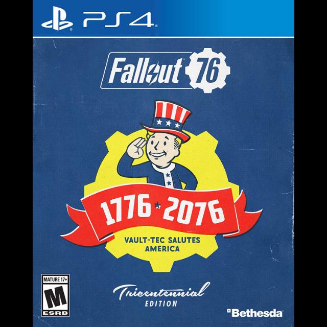 Fallout 76 Tricentennial Edition PlayStation 4 Digital Region USA CD