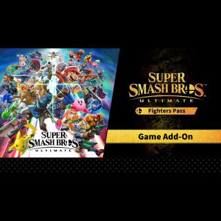 Super Smash Bros. Ultimate + Super Smash Bros. Ultimate Fighter Pass Bundle Nintendo Switch CD Region US