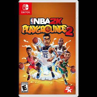 NBA 2K Playgrounds 2 Nintendo Switch CD Region US
