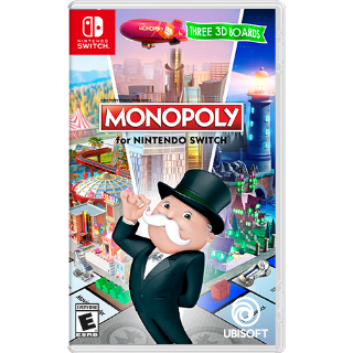 MONOPOLY Nintendo Switch CD Region US