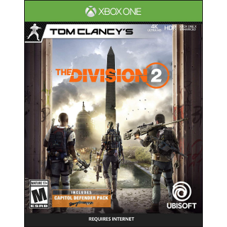 Tom Clancy's The Division 2 - Xbox One  Digital Instant Delivery