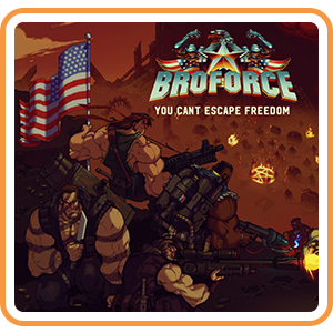 Broforce Nintendo Switch CD Region US