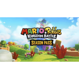 Mario + Rabbids Kingdom Battle Season Pass Nintendo Switch CD Region US