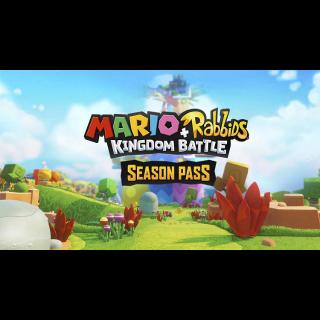 Mario + Rabbids Kingdom Battle Season Pass Nintendo Switch CD Region US